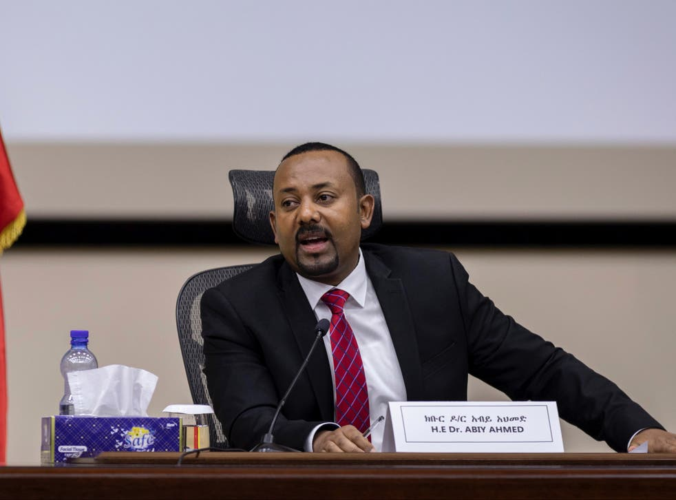 Ethiopia's prime minister, Abiy Ahmed, has urged national unity among more than 80 ethnic groups in the country