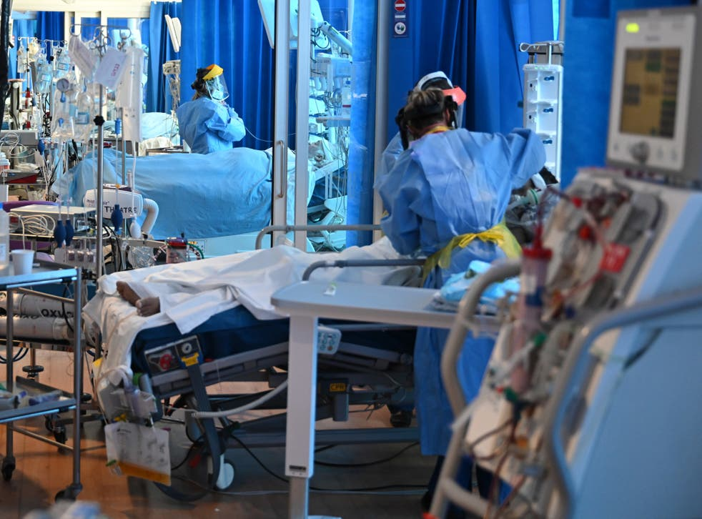 <p>Hospitals in Kent are stretching nurse staffing to unsafe levels due to Covid pressures</p>
