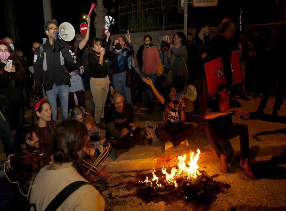 ISRAEL-PROTESTAS