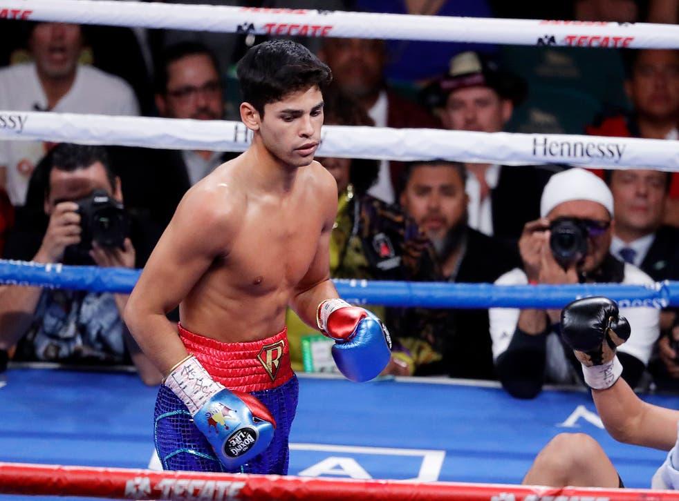 <p>García se mantuvo invicto con 18 nocauts en 21 peleas</p>