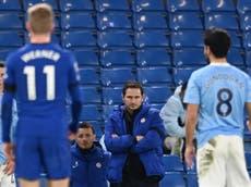 Chelsea: Lampard analiza la crisis tras derrota ante Manchester City