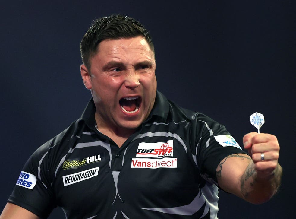 Former rugby professional and new darts world No. 1 Gerwyn Price