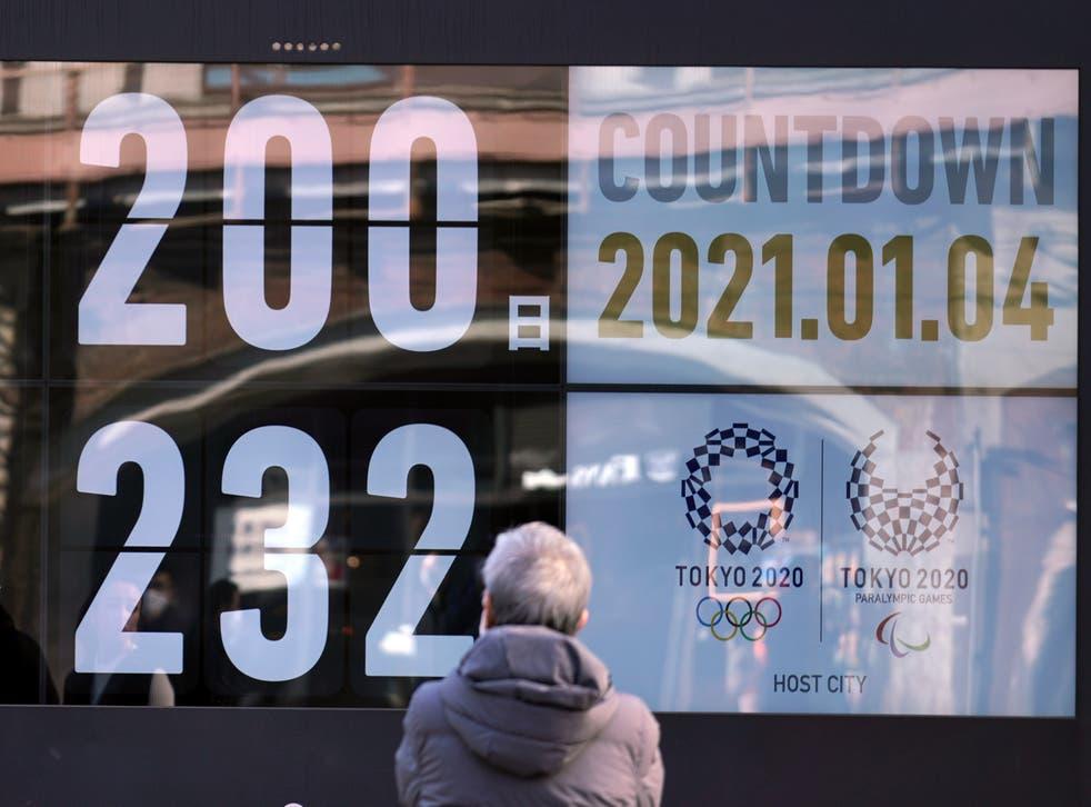 APTOPIX Olympics Tokyo 200 Days