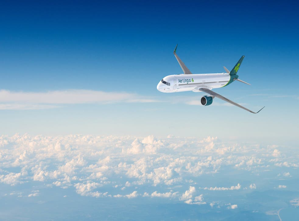 Long legs: the long-range version of the Airbus A321, which will be used by some Aer Lingus flights from Manchester to the UK