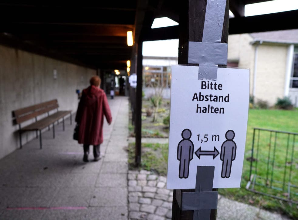 Germany's current coronavirus rules restrict mass congregations and communal singing