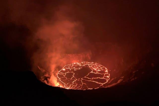 Volcano Eruption Hawaii