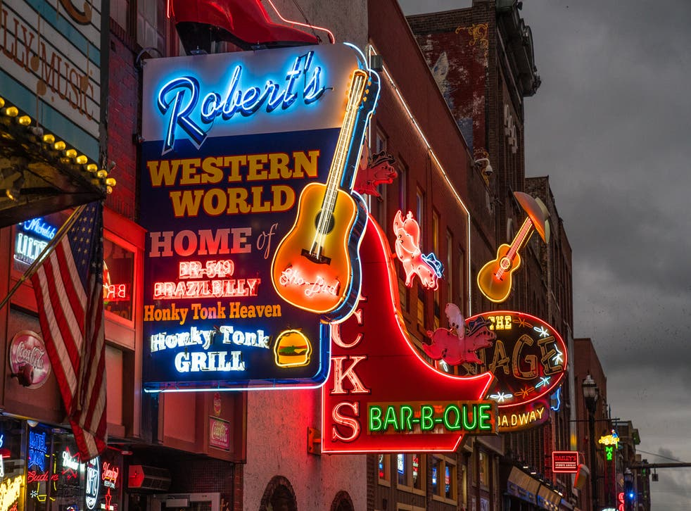 Head for the bright lights of Nashville
