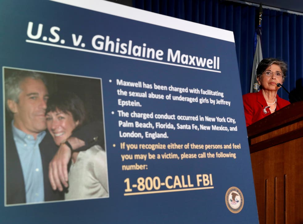 <p>Audrey Strauss, acting United States Attorney for the Southern District of New York, speaks at a news conference announcing charges against Ghislaine Maxwell&nbsp;</p>