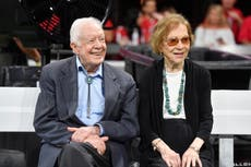 Jimmy and Rosalynn Carter won't attend Biden's inauguration