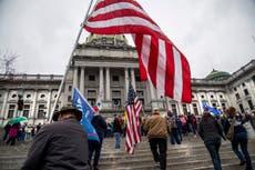 Trump pide a sus simpatizantes que protesten en paz en el Capitolio