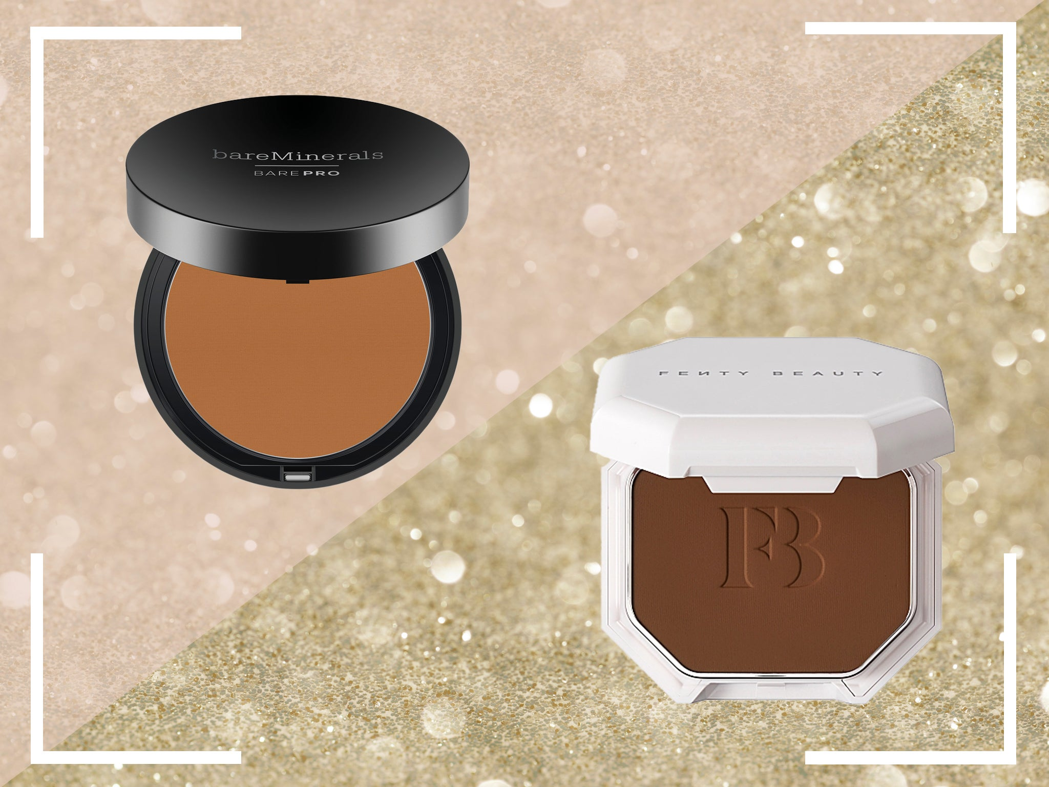 Fenty Beauty Vs Bareminerals Which Powder Foundation Is Best For Shine Proof Skin The Independent