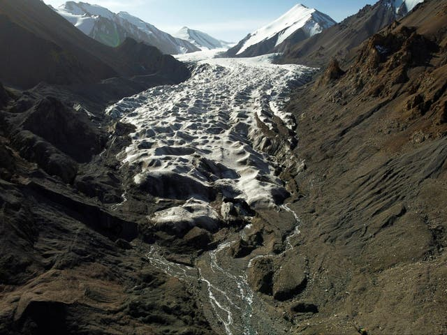 Rising temperatures mean glaciers in parts of China are in retreat, and the process is getting faster