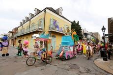 Nueva Orleans: instan a los asistentes a la fiesta de Mardi Gras a mantenerse alejados de las festividades