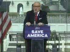 Giuliani podría perder su licencia de abogado tras ataque al Capitolio