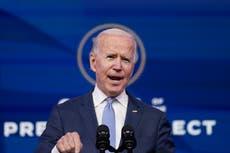 Biden exige a Trump un discurso nacional para frenar caos en Capitolio