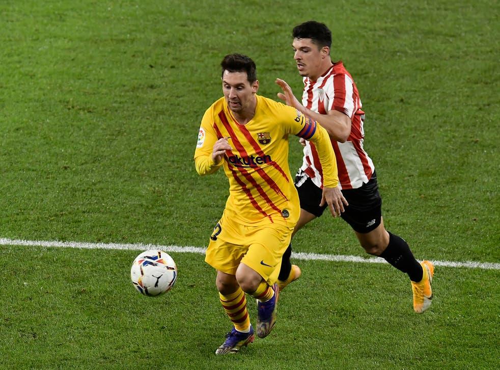 <p>Con su segundo doblete del certamen, Messi escaló a la cima de la tabla de goleadores con nueve dianas.</p>