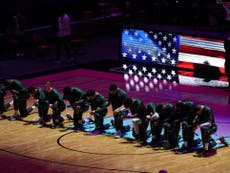 NBA plays on with a 'heavy heart' after Capitol riots