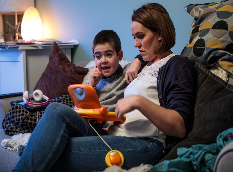 <p>Hannah Deacon's son, Alfie Dingley, suffers from a rare form of epilepsy</p>