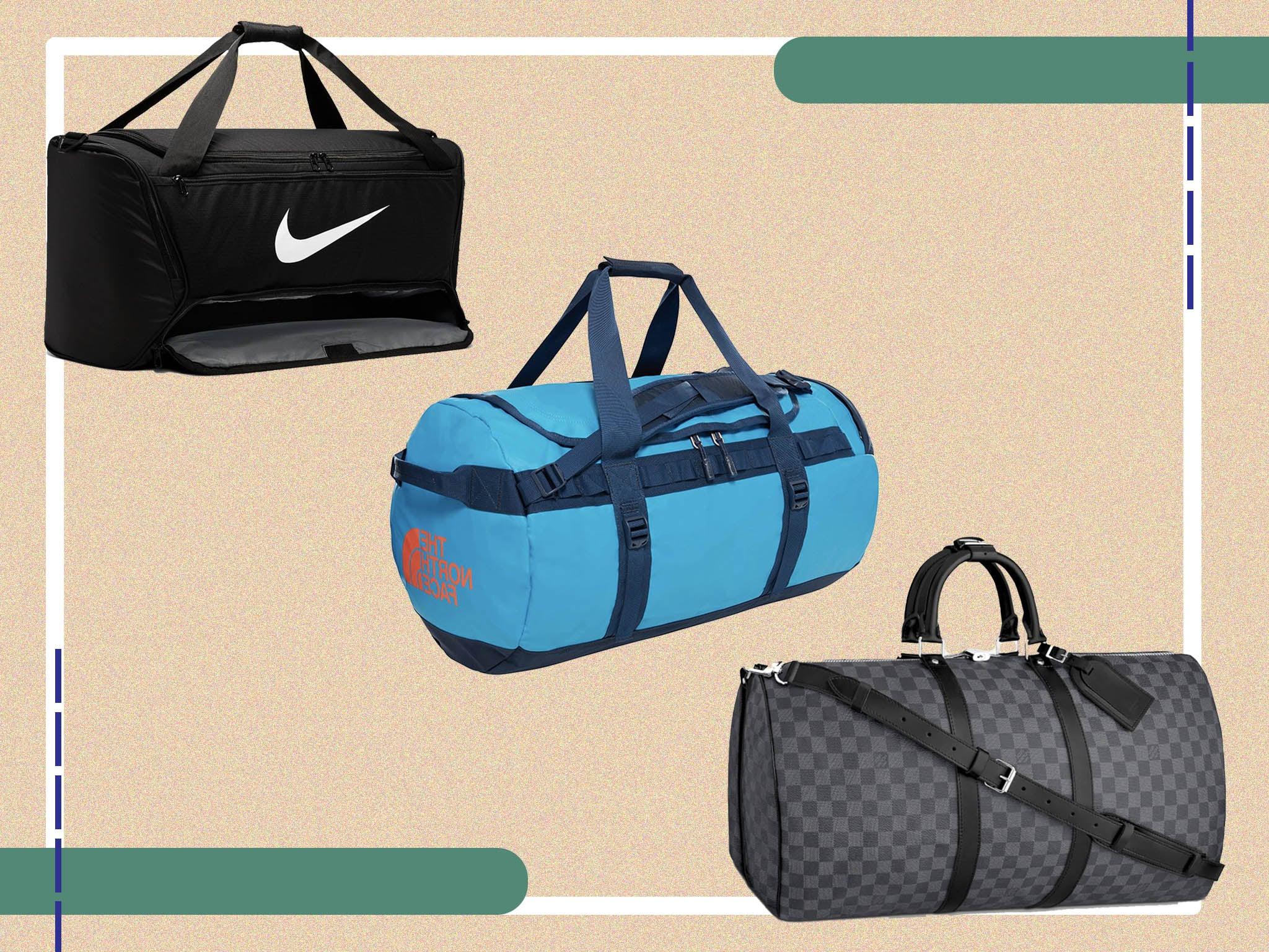 Tote Bag  Carry on Bag  Diaper Bag  Gym Bag  Weekend Bag  Overnignt Bag  Weekender  Travel Bag   Navy Blue and White
