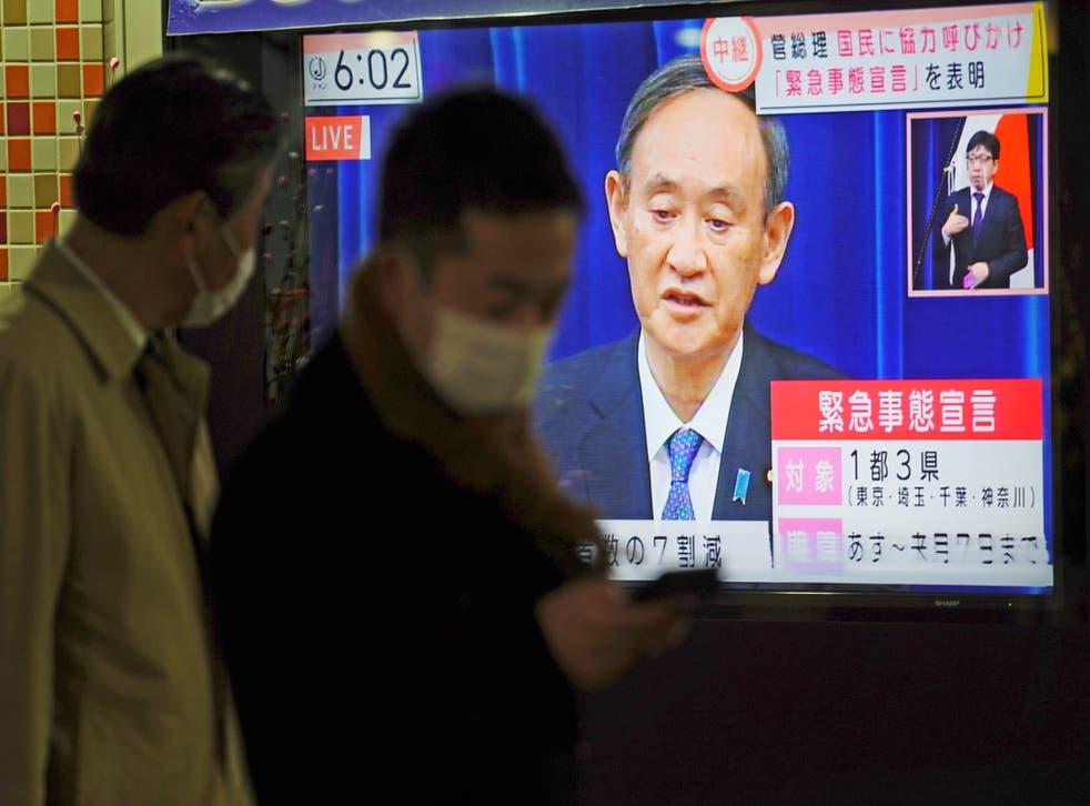 Virus Outbreak Japan State of Emergency
