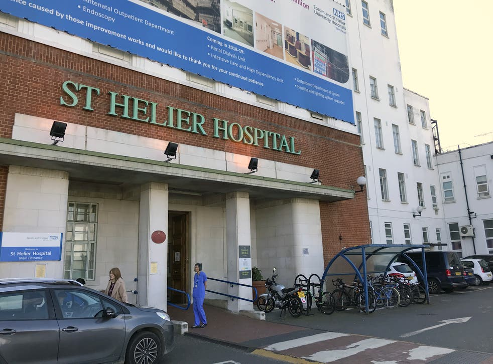<p>St Helier Hospital in Sutton, south London, has had to divert patients because of oxygen concerns</p>