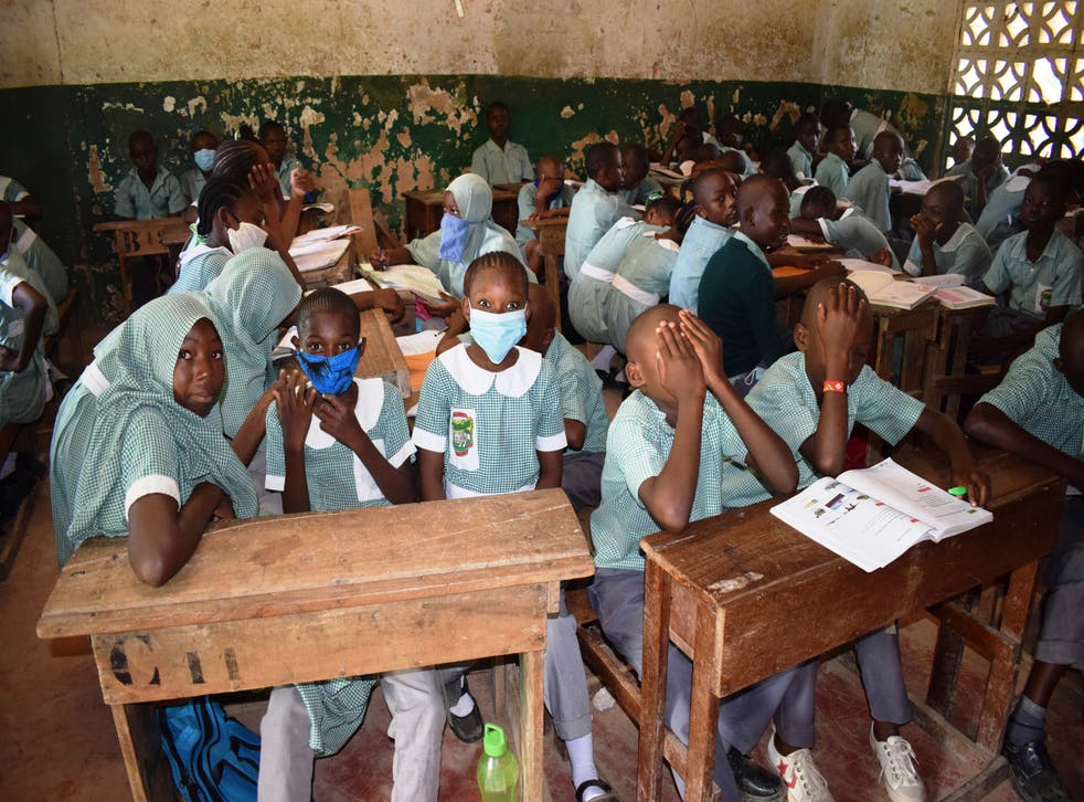 Virus Outbreak Kenya School Reopen