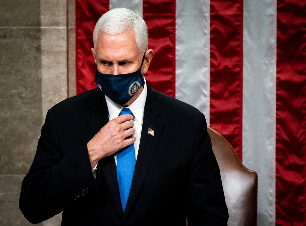 Vice President Mike Pence oversaw the certification of Joe Biden's electoral victory on Wednesday.