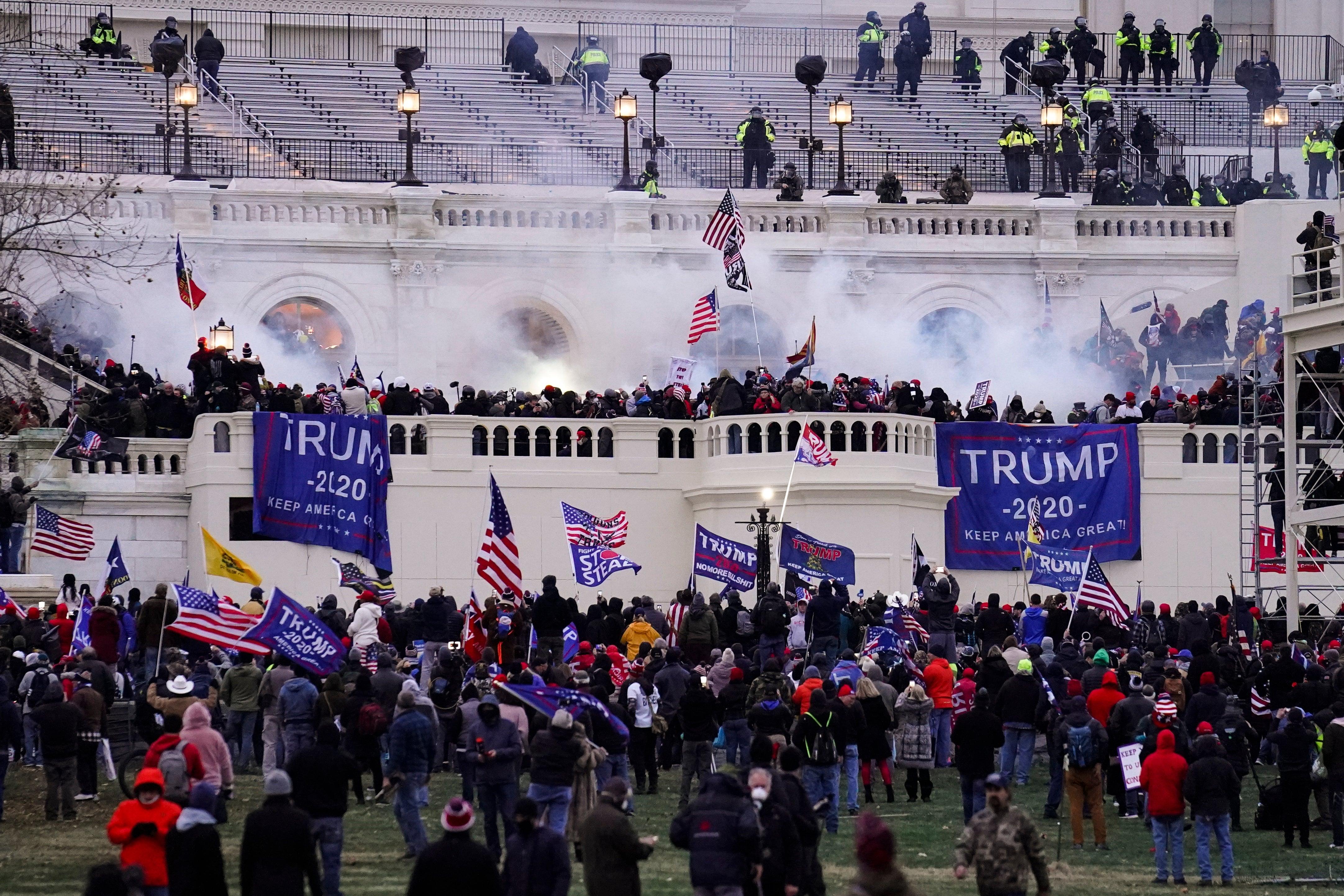 Conservative Media Decry Capitol Riot But Grievances Remain Bi News