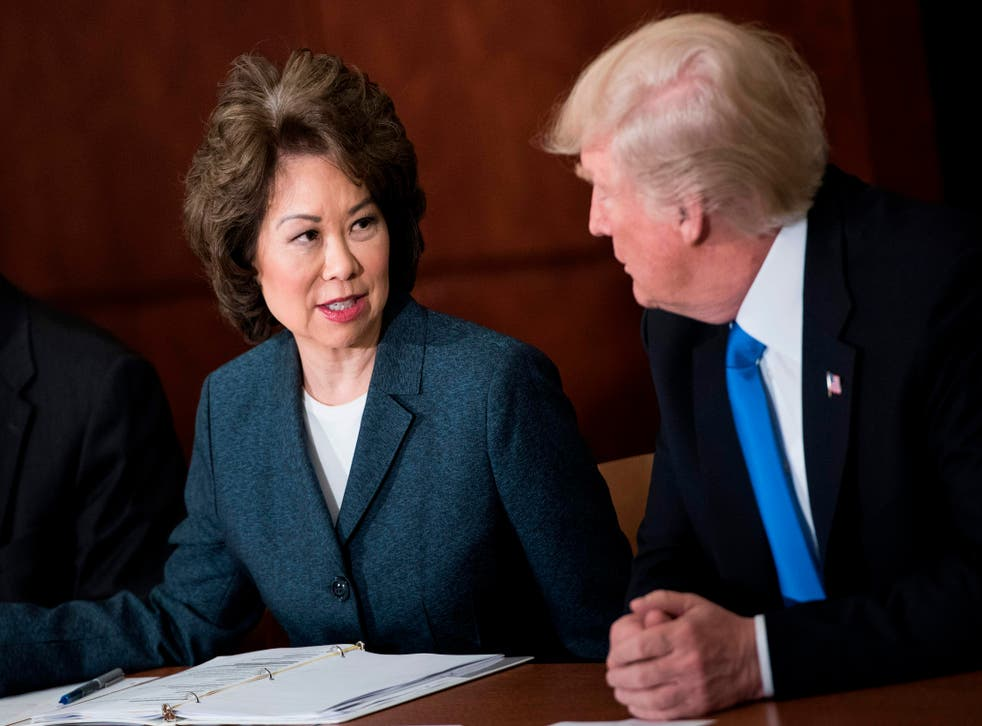 <p>US Transportation Secretary Elaine Chao will resign, according to reports.</p>