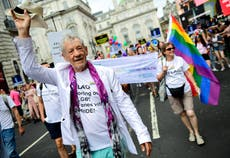 Sir Ian McKellen 'so happy' for Elliot Page for coming out as trans