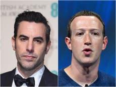 Sacha Baron Cohen reacciona a medidas de Zuckerberg contra Trump en FB