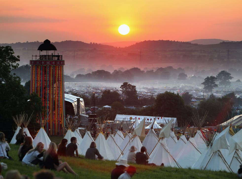<p>Festivals like Glastonbury require months of planning</p>
