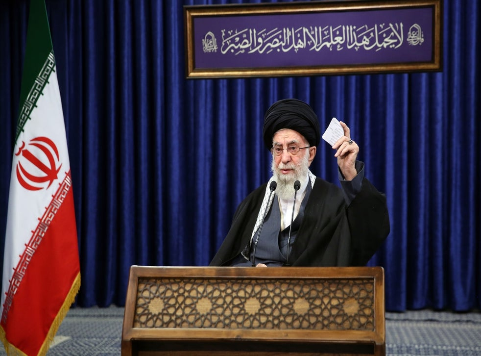 Iran leader bans UK and US Covid vaccines because he doesn't 'trust' them - Tatahfonewsarena