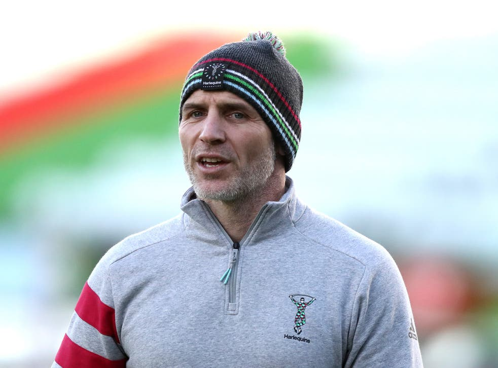 Harlequins' head of rugby Paul Gustard