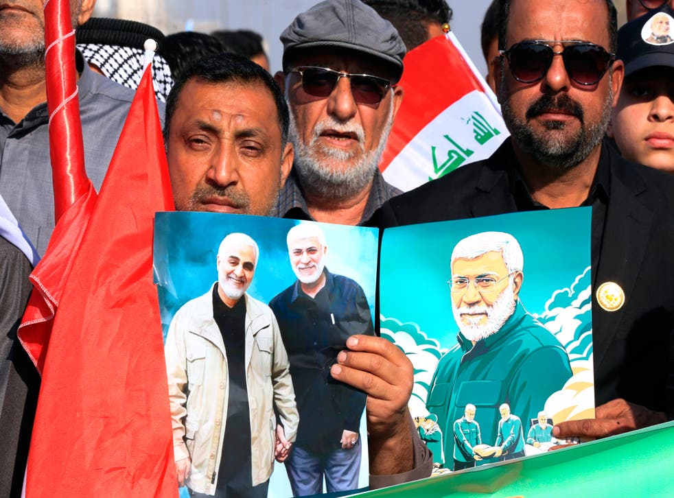 Iraq Soleimani Protest