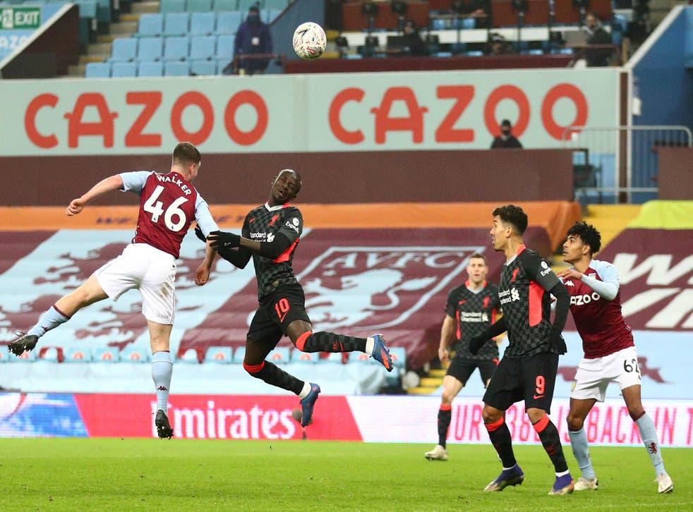 <p>Sadio Mane's scores Liverpool's third</p>