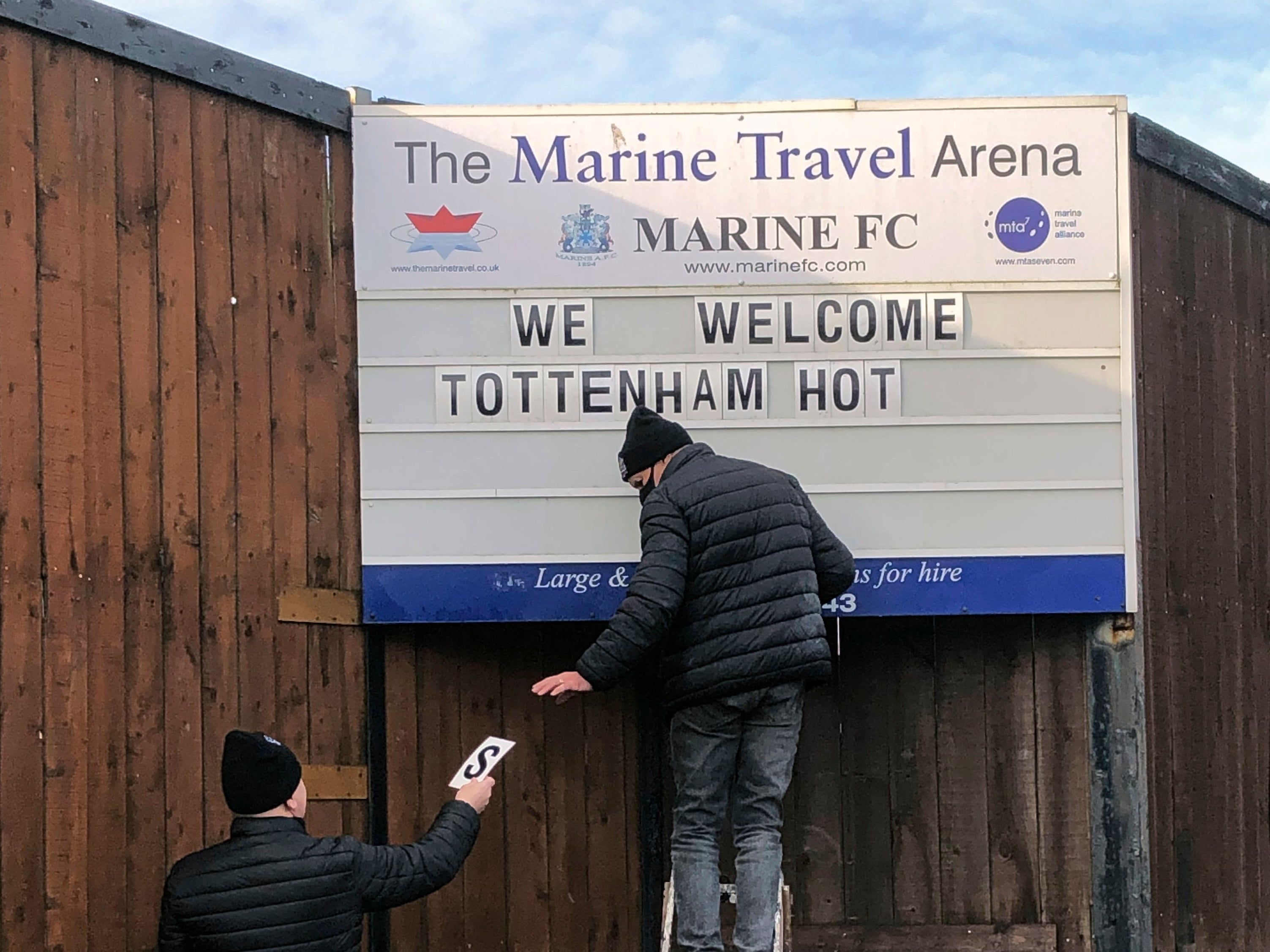 Jose Mourinho will buy Marine raffle ticket before FA Cup third-round tie