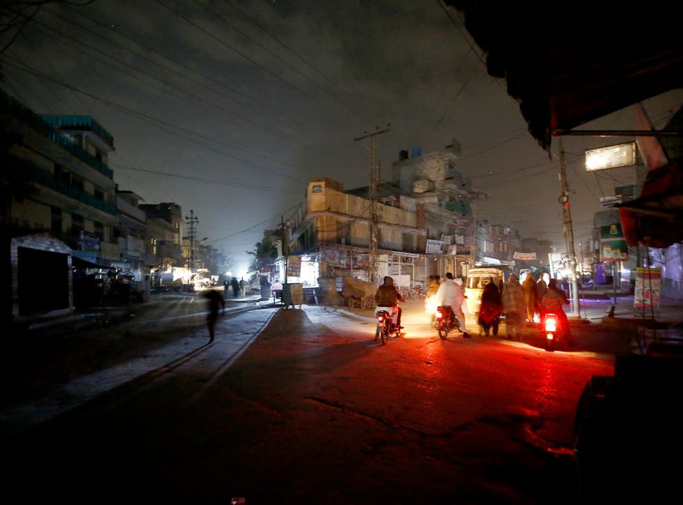 Pakistan Power Outages