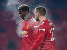 Solskjaer offers injury update on Pogba, Lindelof and Shaw