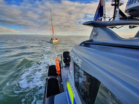 Sailor rescued after drifting 'hopelessly' in English Channel for three days