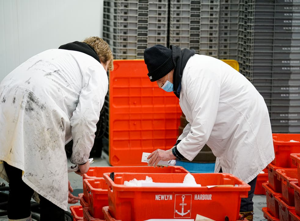 The seafood sector relies on quick passage into the continent to trade products that do not sell to the UK market