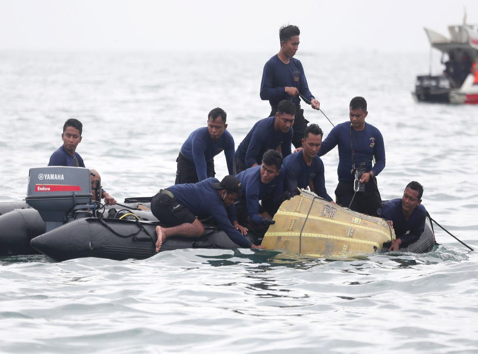 APTOPIX Indonesia Plane Crash