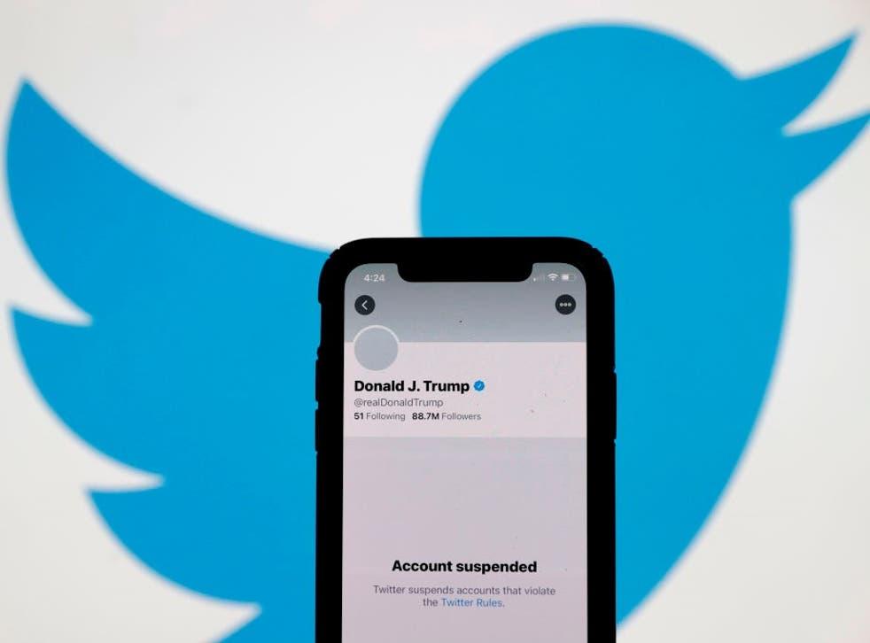 Donald Trump fue prohibido permanentemente en Twitter el viernes 8 de enero de 2021