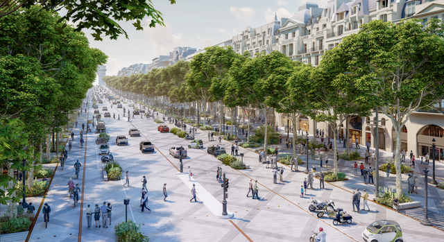 <p>An estimated 100,000 people use the avenue every day</p>