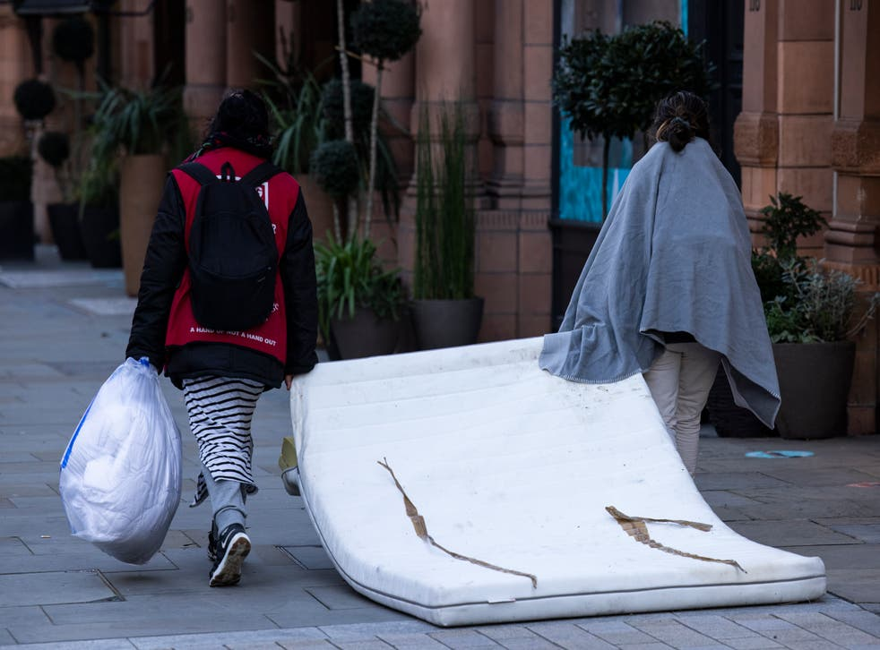 <p>Report finds that 374 out of almost 1,700 who were housed under the Everyone In scheme left the hotels due to 'unmet support needs'</p>
