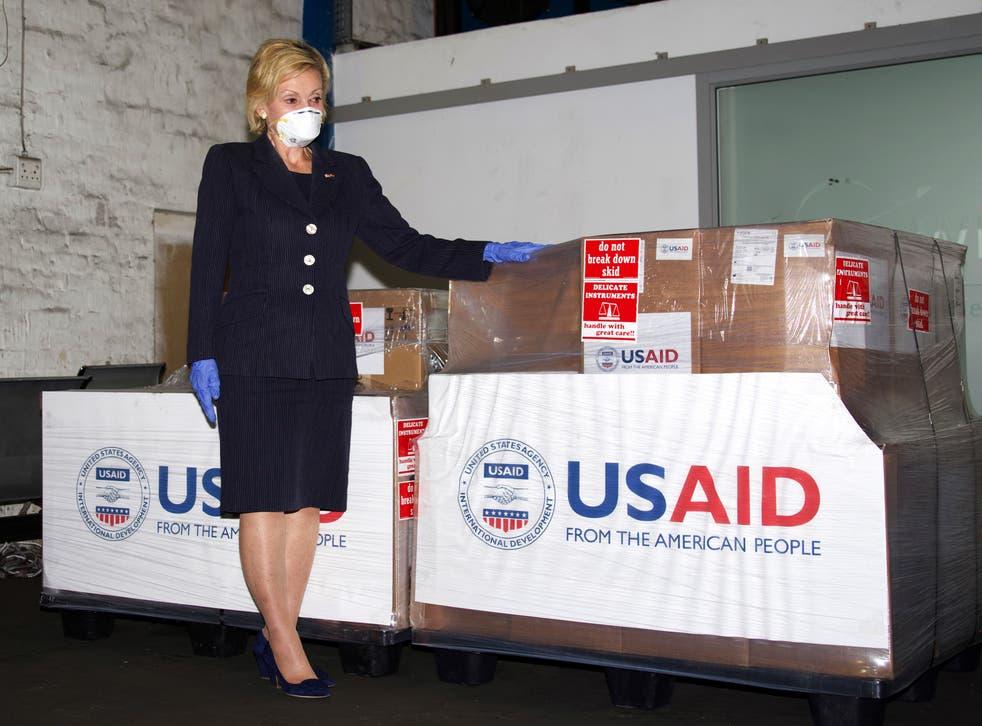 Virus Outbreak South Africa US Ambassador