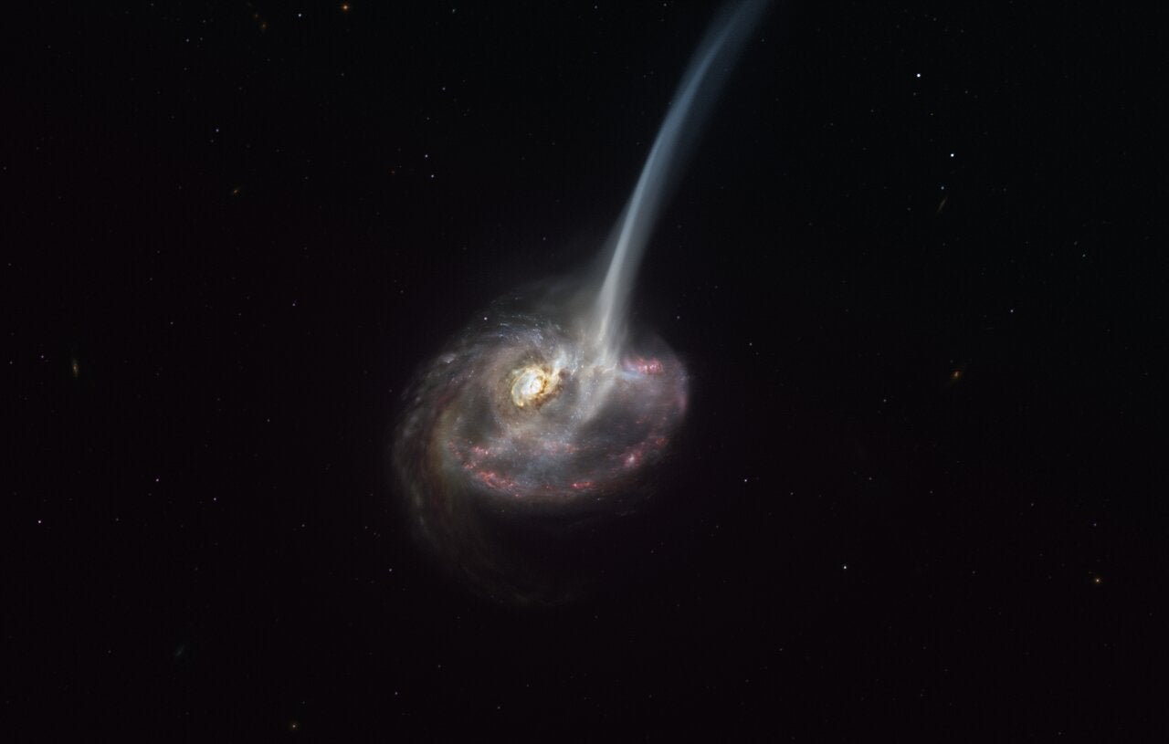 Astronomers see galaxy starting to die - The Independent