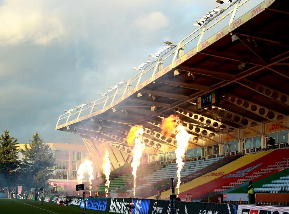 British side Harlequins took on France's Racing 92 last month