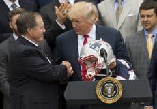 Bill Belichick rechaza la Medalla Presidencial de la Libertad de Trump