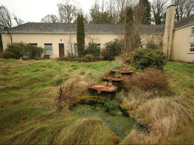 The rear of Sean Ross Abbey in  Tipperary, site of mother and baby home which operated until 1970